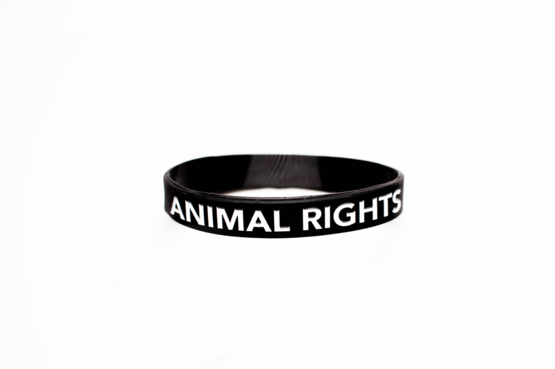 Polsbandje 'Animal Rights'