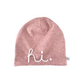 Beanie HI - pink