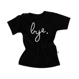 bye shirt - black