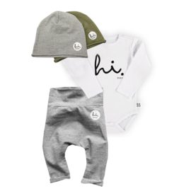 BOX complete outfit - olive