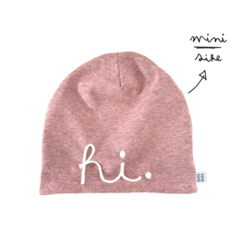 poppenmuts HI - pink