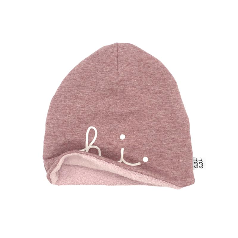 Winterbeanie HI - pink