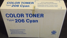 Type 206 Cyan