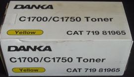 Danka C1700 Canon CLC 1100 Yellow