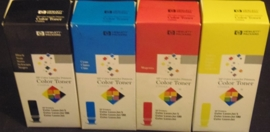Color Laserjet 5 complete set (BCMY)