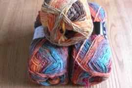Silk Garden Sock Perzisch Oranje