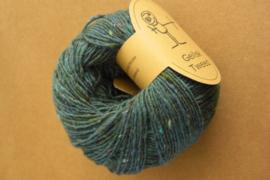 Geilsk Tweed Donker Turquoise / Groen