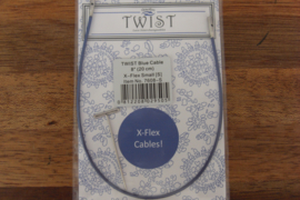 Twist Blue Kabel 13cm X-Flex Small