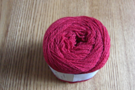 Wool Cotton Rood
