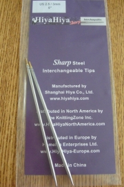 "Sharp tips 4""/2.75mm"