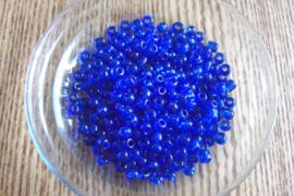 Glaskralen Blauw transparant