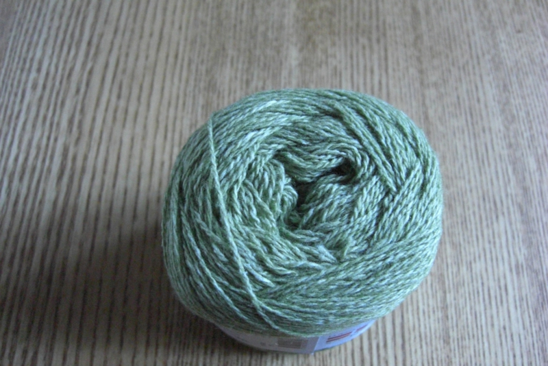 Wool Cotton Lime