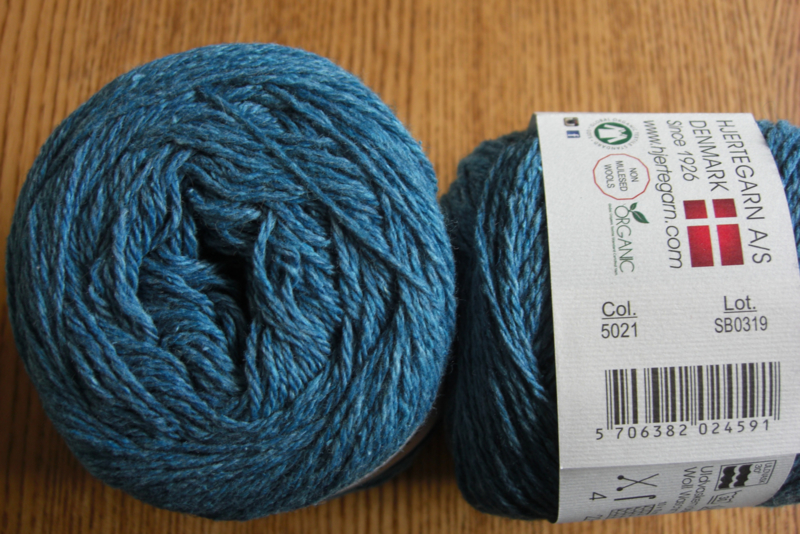 Organic Trio Donker Turquoise