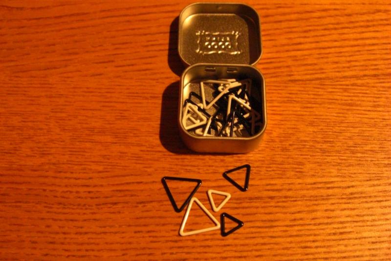 Coco Knits 36 driehoekige Stitch Markers