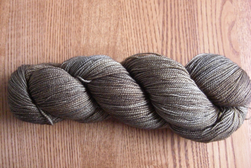 Vivacious 4ply Silver and Bronze