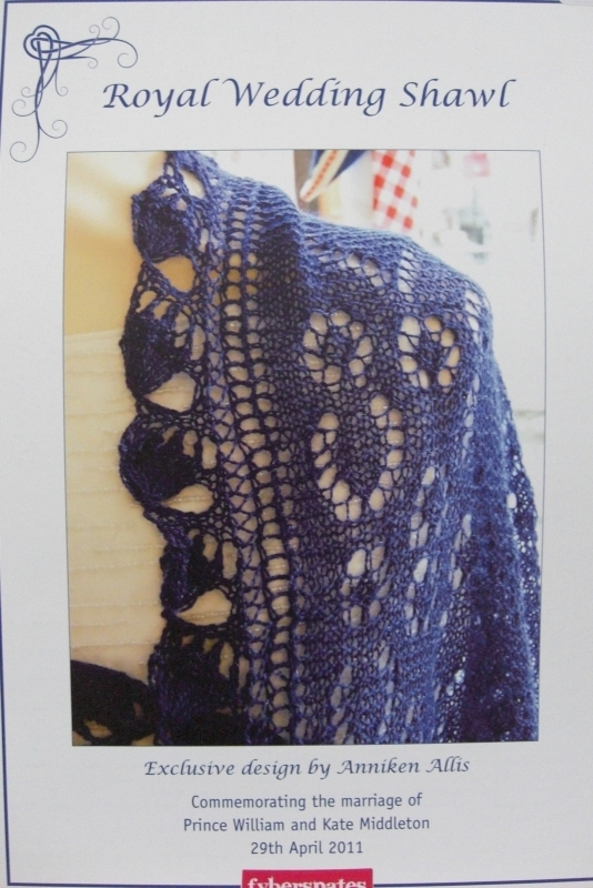 Royal Wedding Shawl
