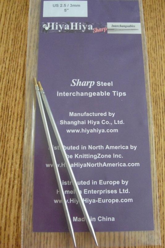 "Sharp tips 4""/3mm"