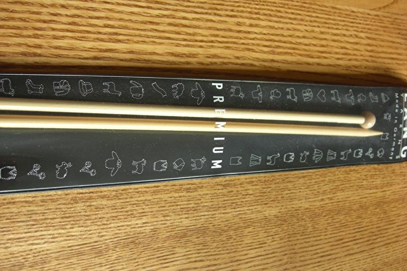 bamboe breinaalden 35 cm/7,0