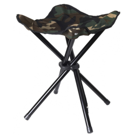 Stealth Gear Collapsible Stool 4 legs, 100% polyester