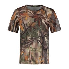 T-Shirt Korte Mouw Camo, STEALTH GEAR