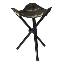 Stealth Gear Collapsible Stool 3 legs, 100% polyester