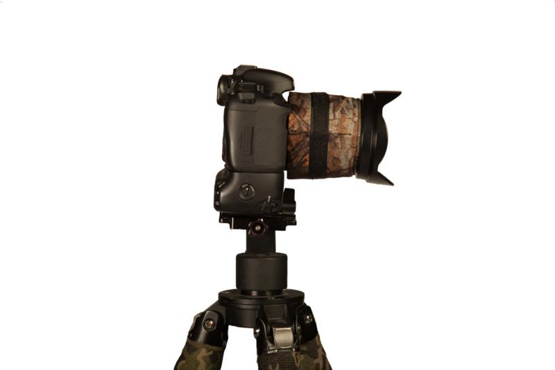 Lens warmer 1, 3 pockets