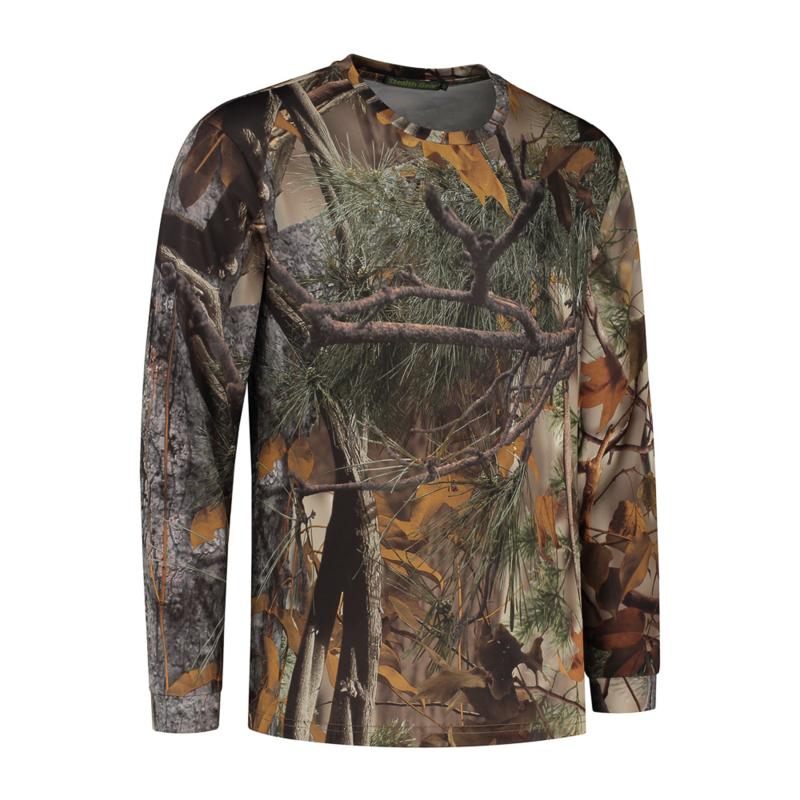 T-Shirt Lange Mouw Camo, Stealth Gear