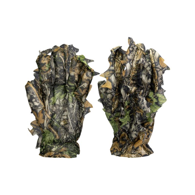 3D Leaves Suit 5 pcs (Jas, Broek, Handschoenen, Gezichtsmasker en Hoed, BUTEO PHOTO GEAR