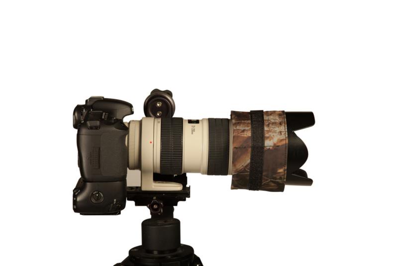 Lens warmer 2, 4 pockets