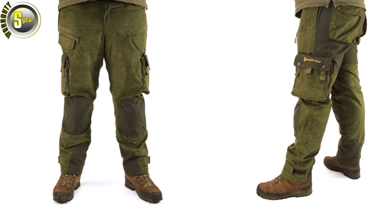 Extreme Trousers model 2N Forest Green Size XXXL, 32, STEALTH GEAR
