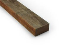 Hardhouten regel azobe ruw 50x100mm 300cm