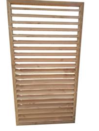 Verstelbare Lamellen onbehandeld Douglas Maatwerk max. 100 x 200 cm