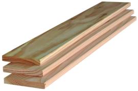 Douglas plank 16x95mm geschaafd 200cm
