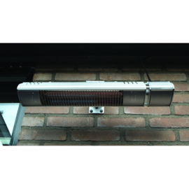 Terrasverwarmer, ULTRA LOW GLARE,1500 watt RC 3 standen