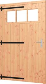 Opgeklampte deur XL enkel met bovenraam