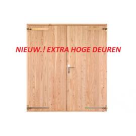 Opgeklampte deur dubbel 1860x2129mm+kozijn 1996x2200mm