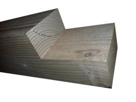ringbalk 120x120x2500 met 1 zijde inkeping 60x120
