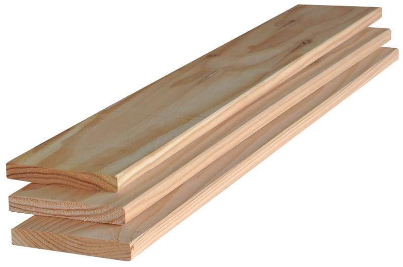 Douglas plank 16x95mm geschaafd 250cm