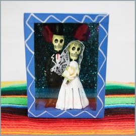 Houten kijkkastje casados