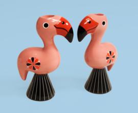 Kandelaar Flamingo's