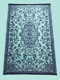 Plastic vloerkleed classic blue | turquoise 120x180cm