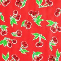 Tafelzeil kers - rood