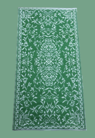 Plastic vloerkleed shamrock green | 90 x 180 cm