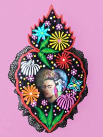 Niche Frida Kahlo hartvorm
