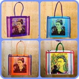 Tassen nylon met opdruk Frida Kahlo