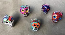 Sleutelhanger Día de los Muertos schedeltjes