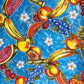 Mexicaans tafelzeil, fruta azul