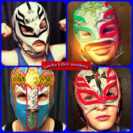 Verkleedmaskers Lucha Libre