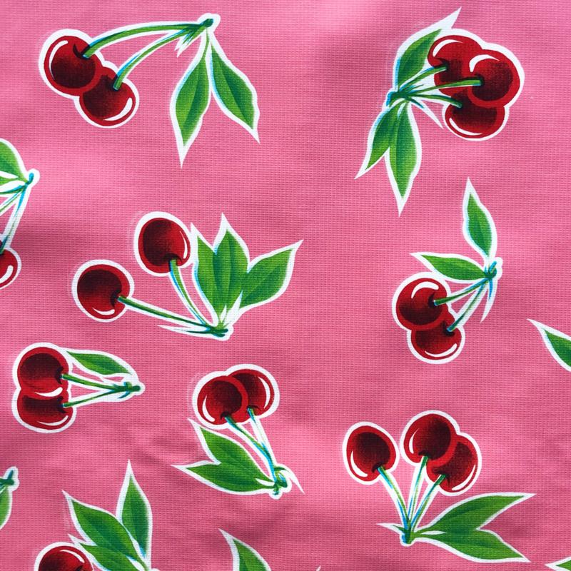 Kers tafelzeil roze
