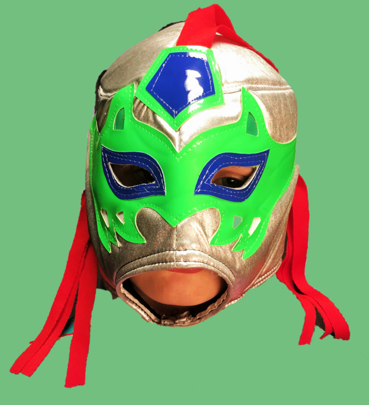 Lucha libre masker